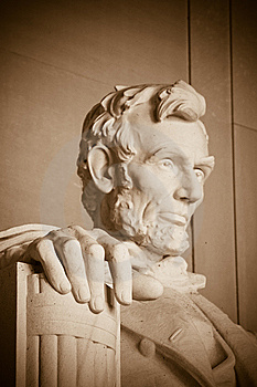 Abraham Lincoln Memorial Stock Images - Image: 8609584