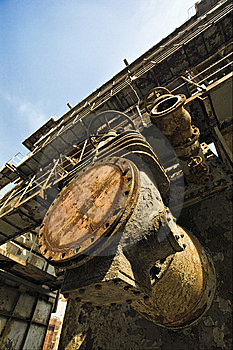 Machinery Royalty Free Stock Photo - Image: 8611735