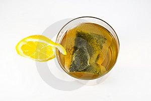 Glass Of Herbal Tea Stock Photo - Image: 8612230