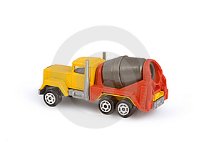Concretemixer Stock Images - Image: 8612354