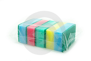 Kitchen Sponges Stock Photo - Image: 8612460