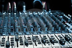 Audio Mixer Stock Photo - Image: 8612520