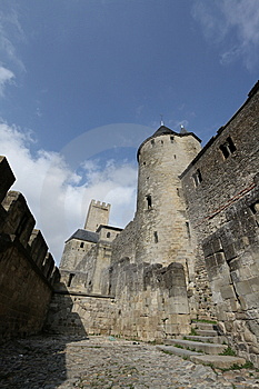 Castle Of Carcassonne Royalty Free Stock Images - Image: 8612549