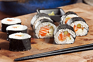 Sushi Royalty Free Stock Photos - Image: 8612648