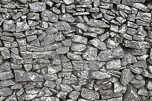 Dry Stone Wall Royalty Free Stock Photos - Image: 8612658