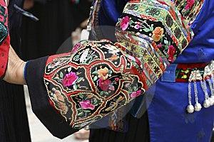 Chinese National Minority Clothing Stock Image - Image: 8612901