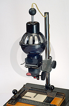 Fotografisk Enlarger Royaltyfria Foton - Bild: 8613028