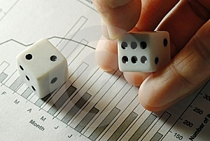 Business Is Gamble Stock Photography - Image: 8613162