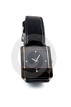 Black Modern Luxury Man Watch Royalty Free Stock Images - Image: 8613289