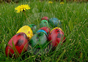 Easter Eggs Royalty Free Stock Images - Image: 8613309