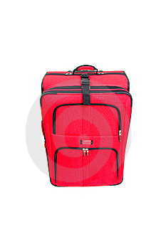 Red Suitcase Royalty Free Stock Photography - Image: 8613337
