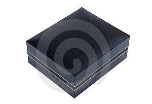 Blue Cardboard Box Stock Photo - Image: 8613340