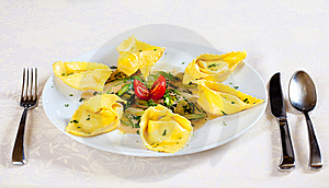Ravioli Royalty Free Stock Photography - Image: 8613407