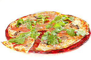 Sliced Tasty Pizza. Stock Images - Image: 8613604