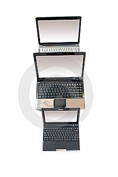 Three Notebooks Stock Photos - Image: 8613623