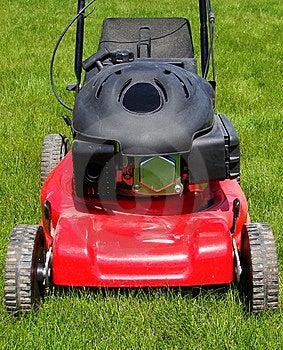 Lawn Mower Stock Image - Image: 8613631