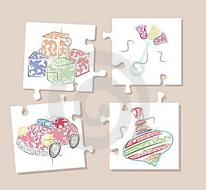 Puzzle Stock Photography - Image: 8613932