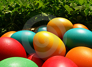 Easter Eggs Royalty Free Stock Photos - Image: 8613958