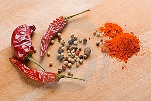 Condiments Royalty Free Stock Image - Image: 8613976