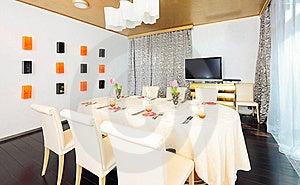 Luxury 5 Star Restaurant Royalty Free Stock Images - Image: 8614009