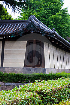 Detail Of Japanese Temple Stock Photos - Image: 8614093