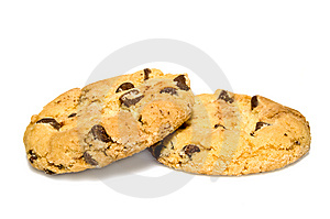 Chocolate Chip Cookies Royalty Free Stock Photos - Image: 8614128