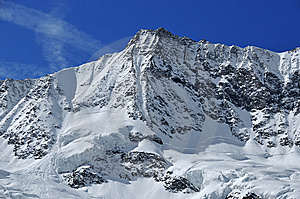 Swiss Alps: Dom Royalty Free Stock Photography - Image: 8614437
