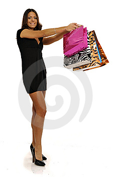 Business Woman Going Shopping Stock Images - Image: 8614594