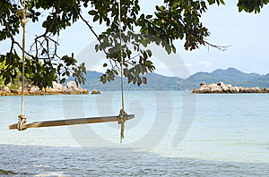 Swing On An Island Royalty Free Stock Image - Image: 8614716