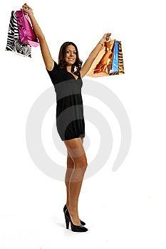 Happy Shopping Stock Photo - Image: 8614800