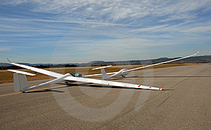 Two Gliders Stock Image - Image: 8614821