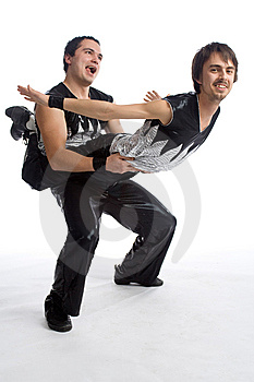 Rock-and-roll Humor Stock Image - Image: 8614971