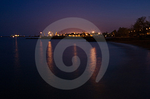 Night Royalty Free Stock Image - Image: 8615046