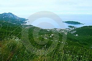 Bird-eye View On Coastline Stock Photography - Image: 8615292