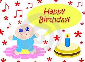 Happy Happy Birthday Royalty Free Stock Photos - Image: 8615568