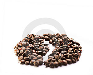 Coffee Grains Royalty Free Stock Images - Image: 8615619