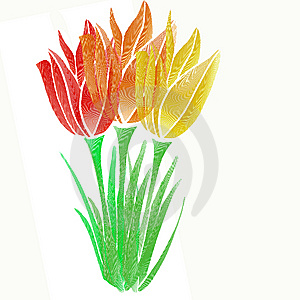 Graphic Flower Royalty Free Stock Photos - Image: 8615978