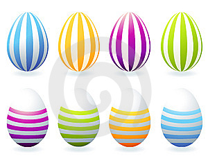 Easter Eggs Collection For Your Design Royalty Free Stock Image - Image: 8616086