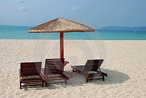 Sunny Beach Stock Image - Image: 8616151