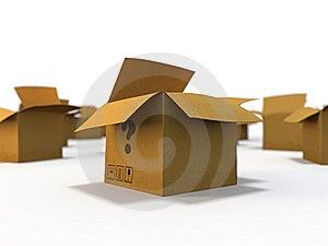 Empty Boxes Stock Photo - Image: 8616400