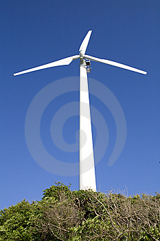 A Windgenerator Royalty Free Stock Images - Image: 8616499