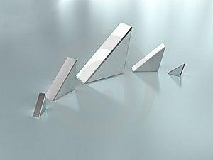 Metal Prisms Stock Images - Image: 8616554