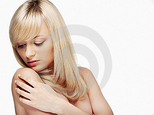 Portrait Of  Blond Woman Royalty Free Stock Photo - Image: 8616745