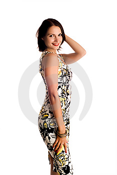 Portrait Of A Woman Royalty Free Stock Photography - Image: 8617047