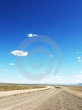 Mongolian Highway Stock Photos - Image: 8617223
