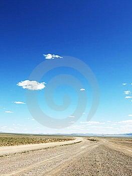 Mongolian Highway Stock Photos - Image: 8617223