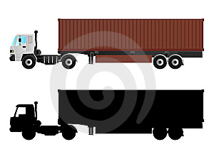 Truck Vector Stock Photos - Image: 8617673