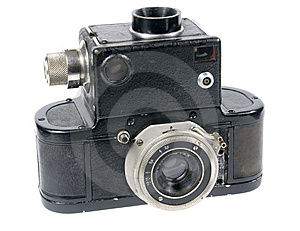 Old Camera Stock Photos - Image: 8617993