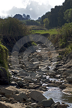 Rocky River Bed Stock Photos - Image: 8618023