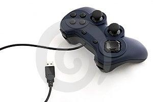 Gamepad Und USB-Kabel Stockfotografie - Bild: 8618072